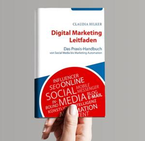 Buch Digital Marketing_Claudia Hilker